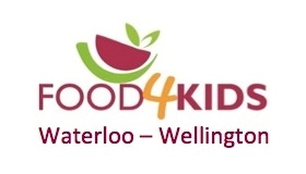 food for kids Waterloo Wellington logo